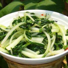 清炒白菜苗的做法