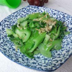 虾皮炒芥菜