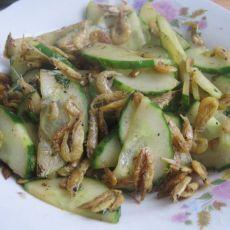 清炒瓜片小虾皮