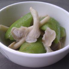 丝瓜蟹味菇