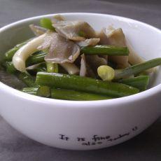 蒜苗蟹味菇