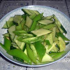 蚝油青椒黄瓜