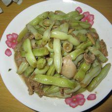 爆炒芸豆的做法