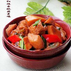 红烧杏鲍菇素鸡