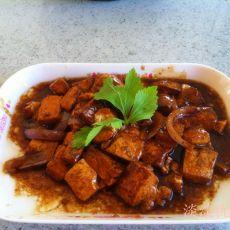 红烧豆腐――六毛钱的菜品