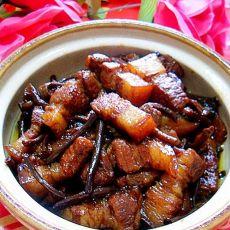 茶树菇烧肉