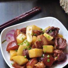 原创首发:土豆红烧肉的做法