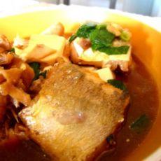 豆腐红烧鱼的做法