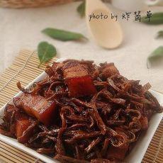 豇豆干红烧肉