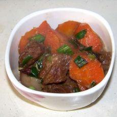 胡萝卜红烧肉