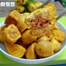 红烧芋头豆腐肉包