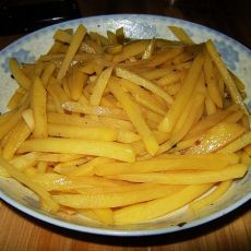 醋溜土豆丝的做法