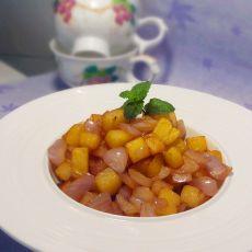 洋葱干煸土豆的做法