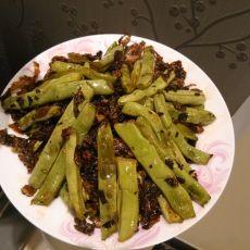盐菜干扁四季豆