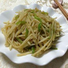 干煸尖椒土豆丝