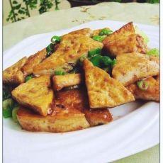 蟹籽酱烧豆腐