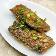 芝麻辣酱烧带鱼
