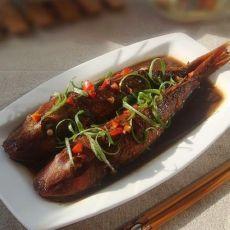 酱烧红娘鱼―注意4个小要点烧鱼不易碎