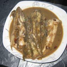 酱烧摆拉夹鱼的做法