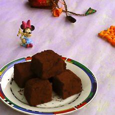 松露巧克力月饼
