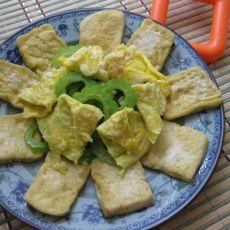 苦瓜豆腐拼盘的做法