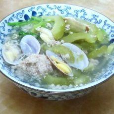 苦瓜花蛤汤