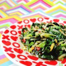 凉拌苦苣菜的做法