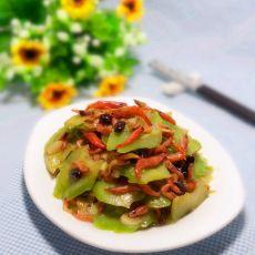 豆豉虾米烧苦瓜