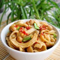 腊八豆炒面筋的做法