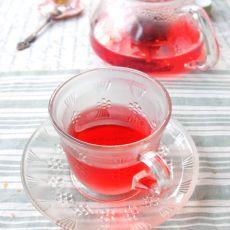 桂花洛神花茶
