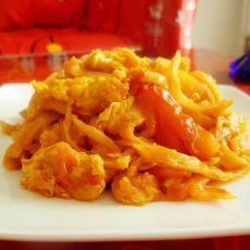 西红柿鸡蛋炒饼