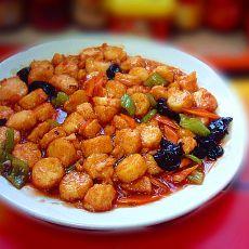 茄汁玉子豆腐