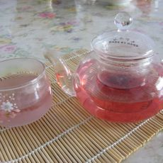 冰糖玫瑰茄花茶