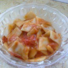 西红柿炒面片