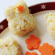 日式蛋香香酥饭团的做法