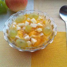 水果杏仁豆腐的做法