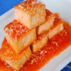 番茄酱豆腐的做法