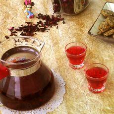水果朗姆酒花果茶