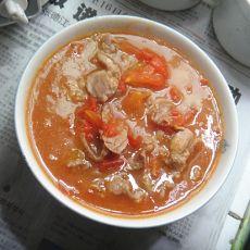 西红柿瘦肉汤的做法