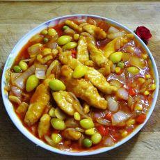 茄汁鸡肉条的做法