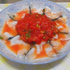 茄汁蝴蝶鱼片