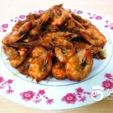 麻辣酸甜风味虾