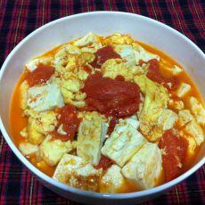 西红柿鸡蛋炖豆腐