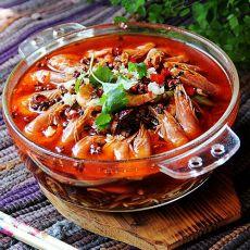香辣跳水虾的做法