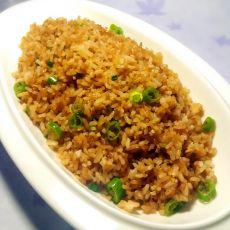 青椒酱油炒饭