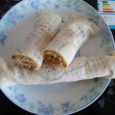 土豆丝卷饼