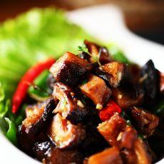 香辣干煸花菇的做法
