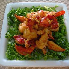 芥末龙虾肉