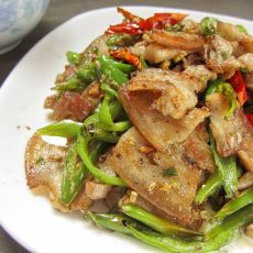 尖椒小炒肉的做法