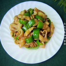 青椒炒肥肠